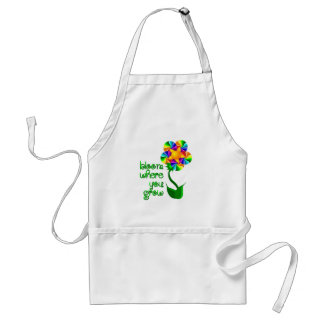 Bloom Where You Grow Standard Apron