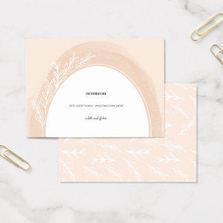 Bloom Wild | Enclosure Card