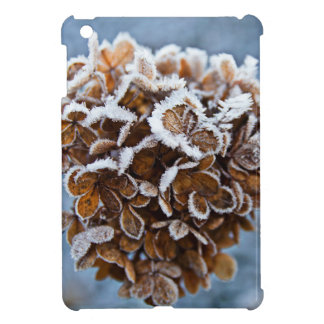 Bloom with ice crystals iPad mini cover