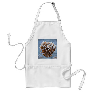 Bloom with ice crystals standard apron