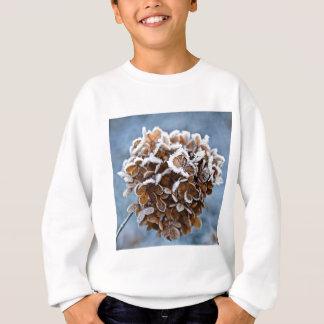 Bloom with ice crystals sweatshirt