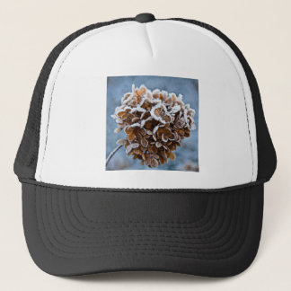 Bloom with ice crystals trucker hat