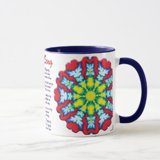 Bloom Yoga Song Mug
