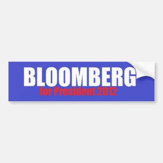 Bloomberg 2012 bumper sticker