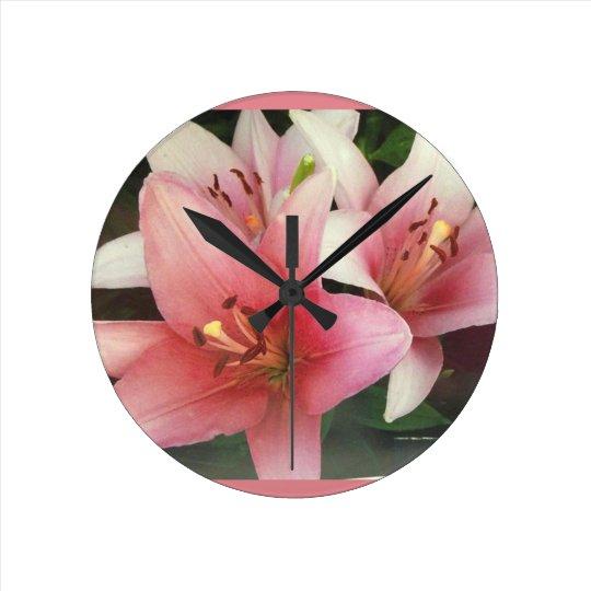 Bloomin' clock