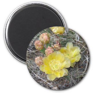 Blooming 2 Inch Round Magnet