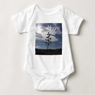 Blooming agave baby bodysuit