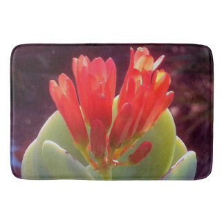 Blooming Agave Bath Mat