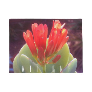 Blooming Agave Doormat