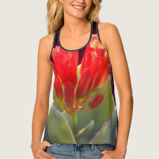 Blooming Agave Tank Top