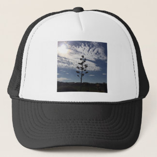 Blooming agave trucker hat
