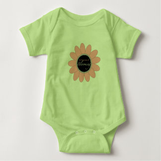 Blooming Baby Outfit Baby Bodysuit