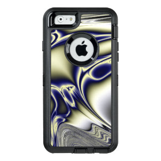 Blooming Blue Fractal OtterBox iPhone 6/6s Case