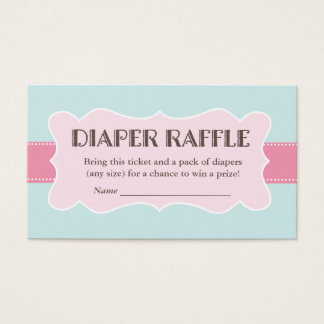 Blooming Branche Diaper Raffle Ticket