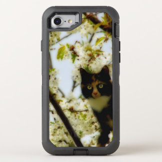 Blooming Cat OtterBox Defender iPhone 8/7 Case