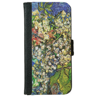 Blooming chestnut branches iPhone6 Wallet Case