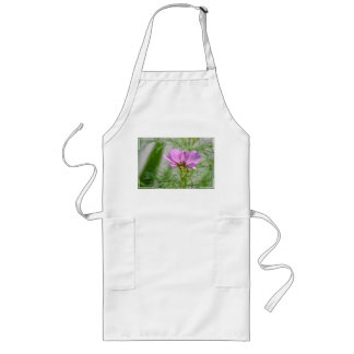 Blooming Cosmos Flowers Apron
