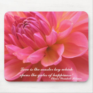 Blooming Dahlia Mousepad