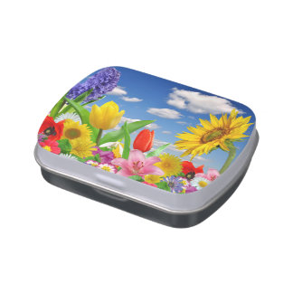 Blooming Flora Candy Tin