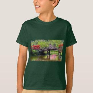 Blooming Flowers Bridge Tee Shirt