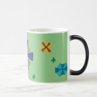 Blooming Flowers Morphing Mug