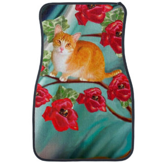 Blooming Friendship Tree Neighbors Car Mat