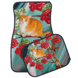 Blooming Friendship Tree Neighbors Car Mats Set