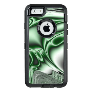 Blooming Green Fractal OtterBox iPhone 6/6s Case