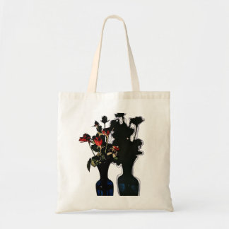 Blooming in gloom tote bag