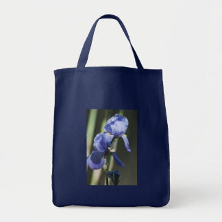 Blooming Iris Shopping Tote