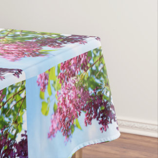 Blooming lilac pretty tablecloth