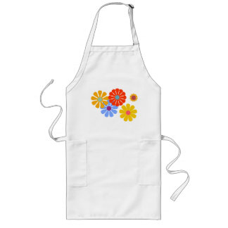 Blooming Long Apron by Florence Dashiell