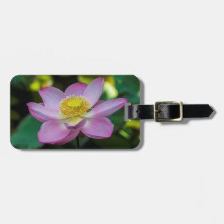 Blooming lotus flower, Indonesia Luggage Tag