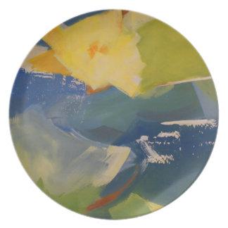 Blooming Ocean Dinner Plates