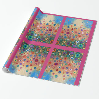 Blooming Party Wrapping Paper