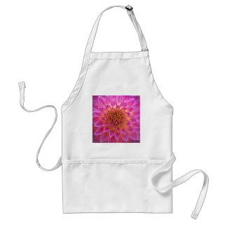 Blooming Pink flower apron