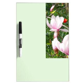 Blooming Pink Magnolia 01.3 Dry Erase Board