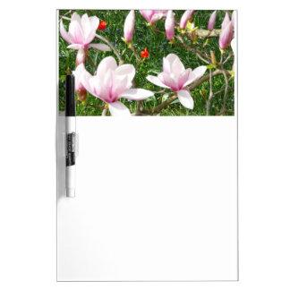 Blooming Pink Magnolia 01.5 Dry Erase Board
