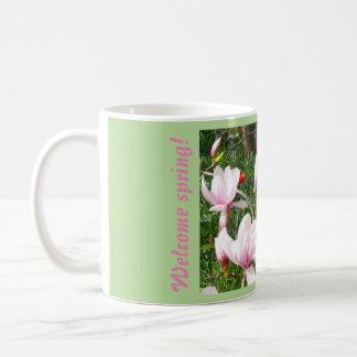 Blooming Pink Magnolia 01 Coffee Mug