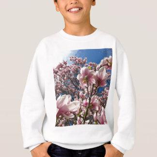 Blooming Pink Magnolia (Tulpenbaum) Sweatshirt
