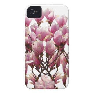 Blooming Pink Magnolias Spring Flower iPhone 4 Covers