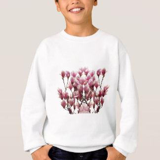 Blooming Pink Magnolias Spring Flower Sweatshirt
