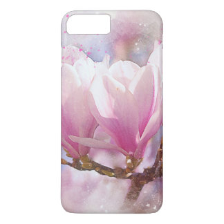 Blooming Pink Purple Magnolia - Spring Flower Case-Mate iPhone Case