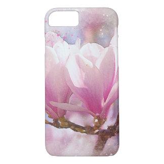 Blooming Pink Purple Magnolia - Spring Flower iPhone 8/7 Case
