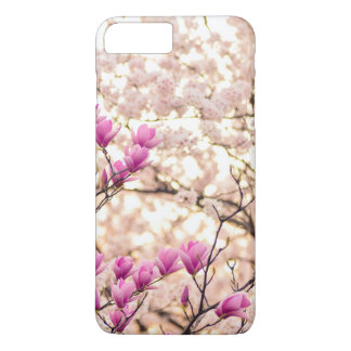 Blooming Pink Purple Magnolias Spring Flower Case-Mate iPhone Case