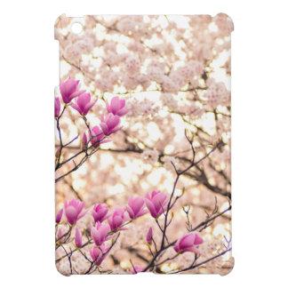 Blooming Pink Purple Magnolias Spring Flower iPad Mini Covers