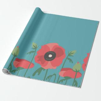 Blooming Poppy Field Print