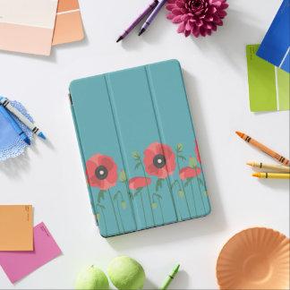 Blooming Poppy Field Print iPad Air Cover