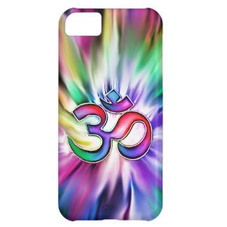 Blooming Rainbow Lotus OM iPhone 5C Cover