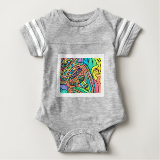 Blooming Ribbons Baby Bodysuit